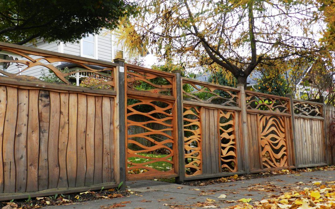 Cómo utilizar madera en el jardín exterior